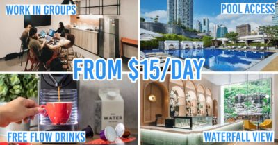 Work from hotel deals Singapore