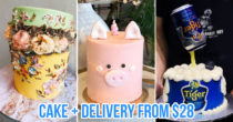 20 Cake Delivery Services To Bookmark For Birthdays & Celebrations, Including Free Or Same-Day Delivery