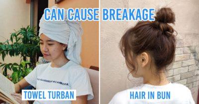 Habits LEading to Hair Loss