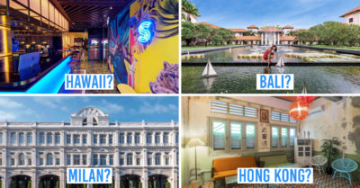 Hotel staycation deals in Singapore