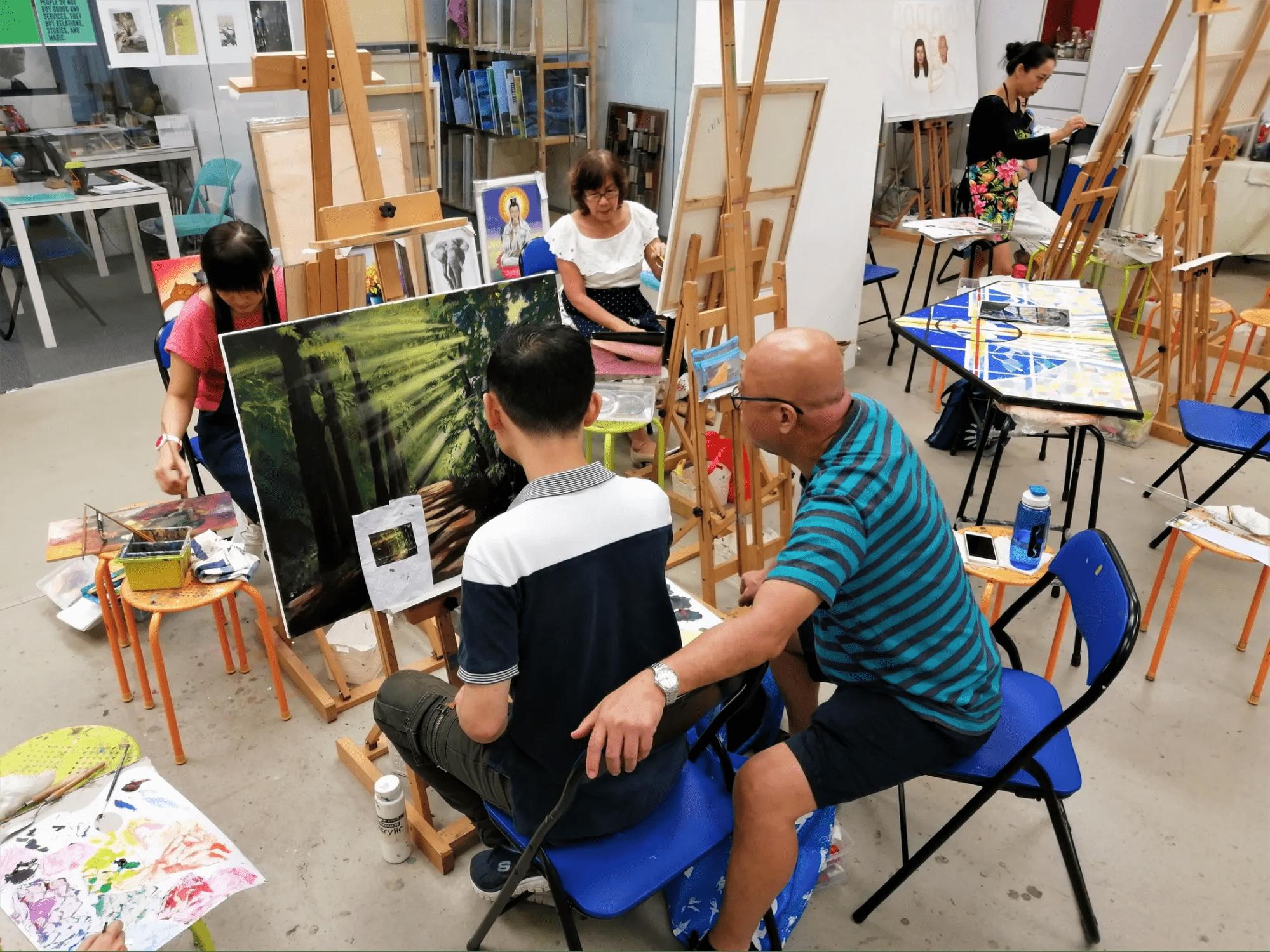art dimension studio, assisi fun day 2020