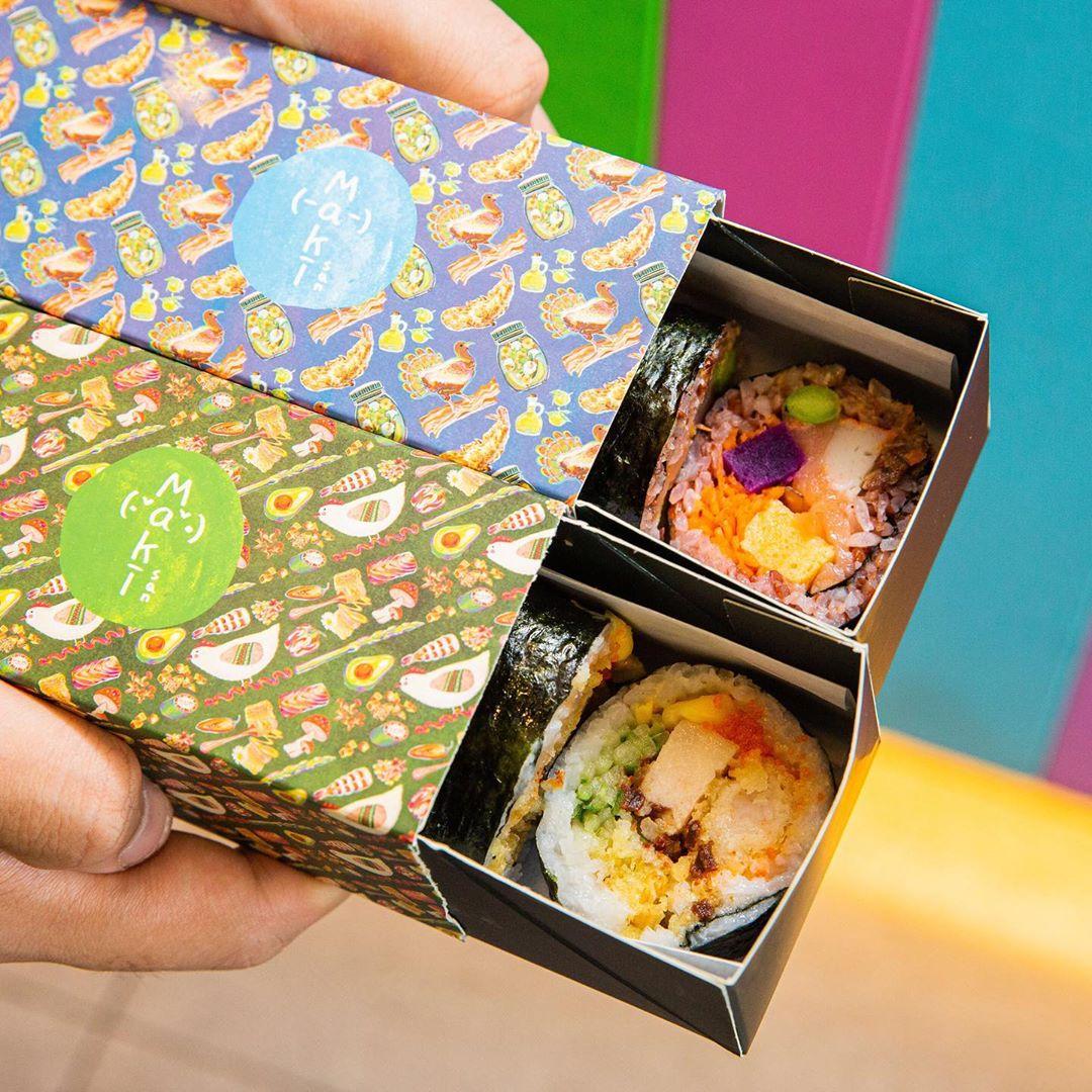 Maki-San Sushi Roll