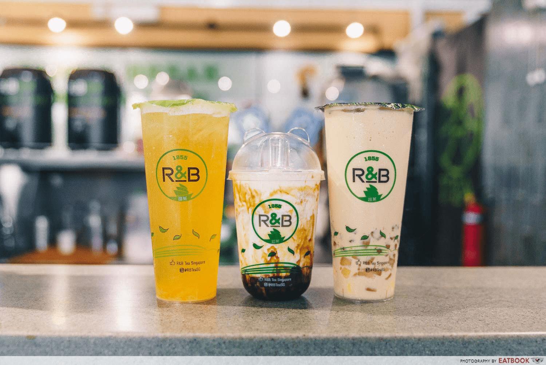R&B Tea Bubble Tea