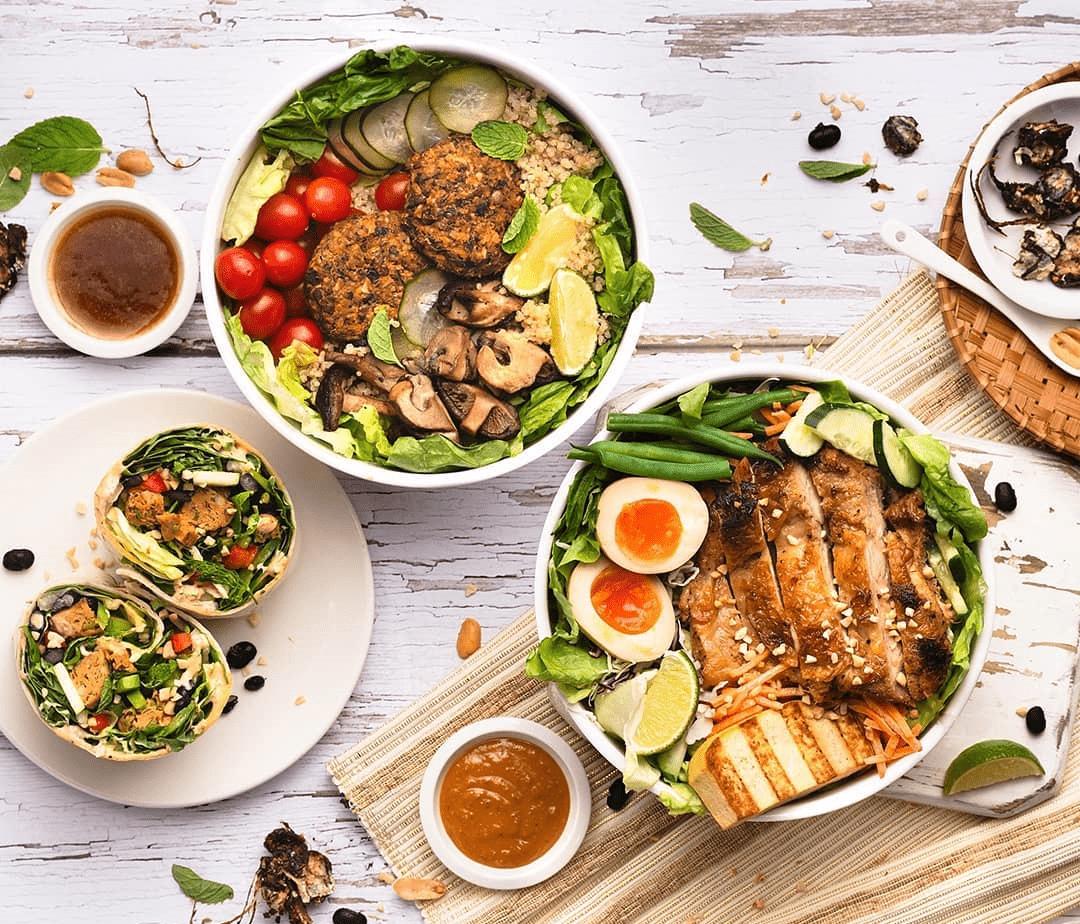 SaladStop! DIY Grain Bowls