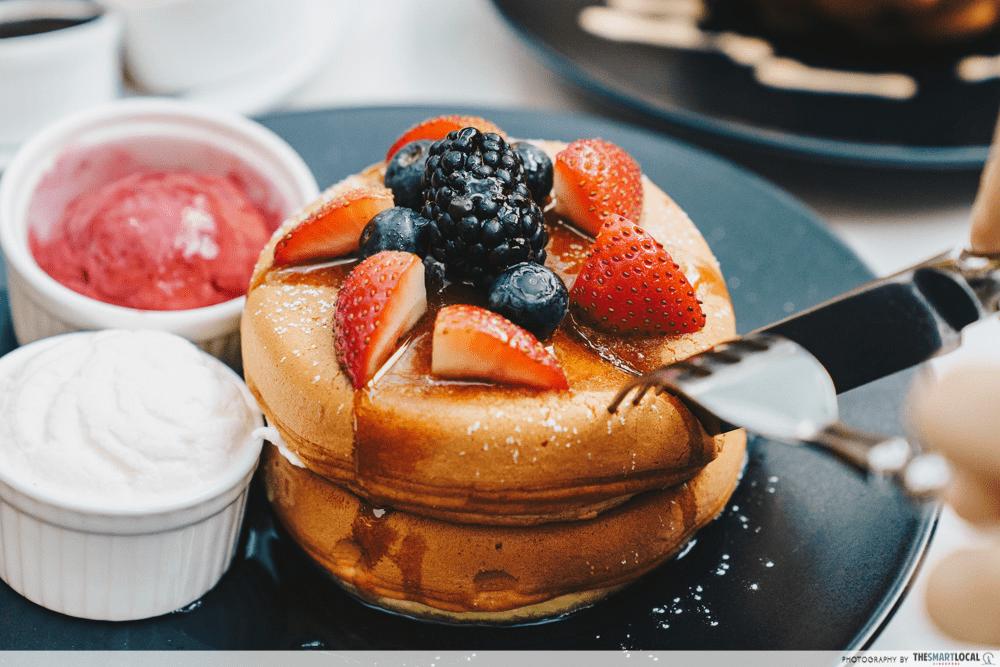 The Coffee Academics Pancake Tower