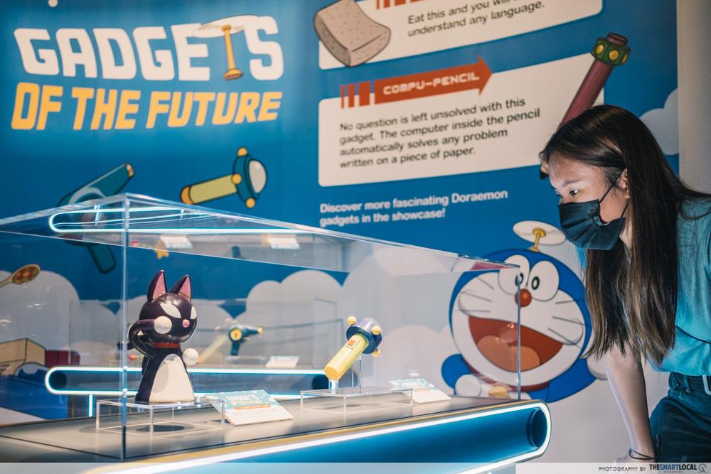 doraemon national museum exhibit - gadgets of the future