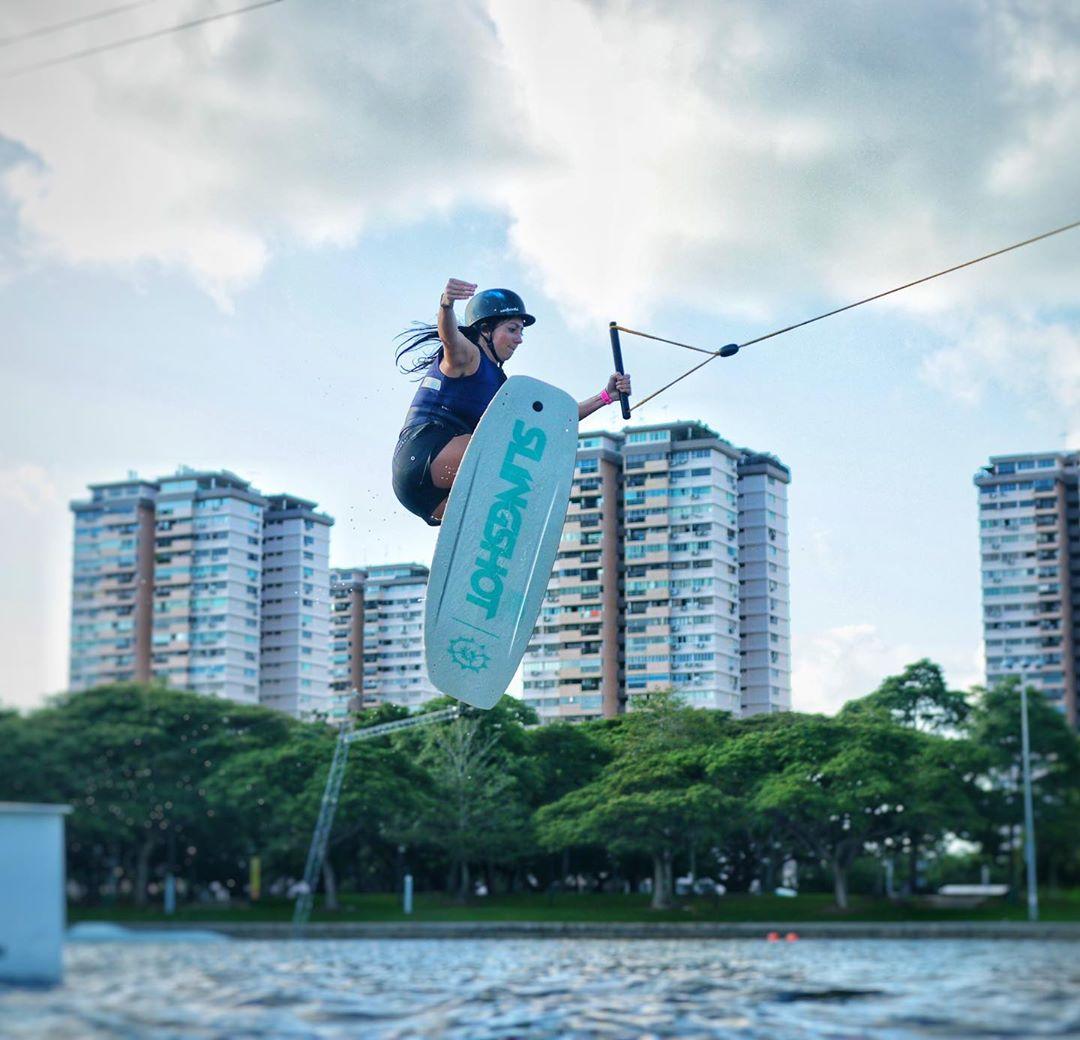 East Coast Park - wakeboarding