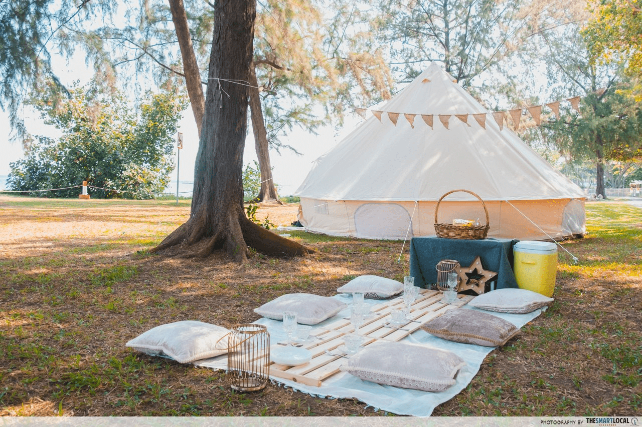 East Coast Park - Glamping
