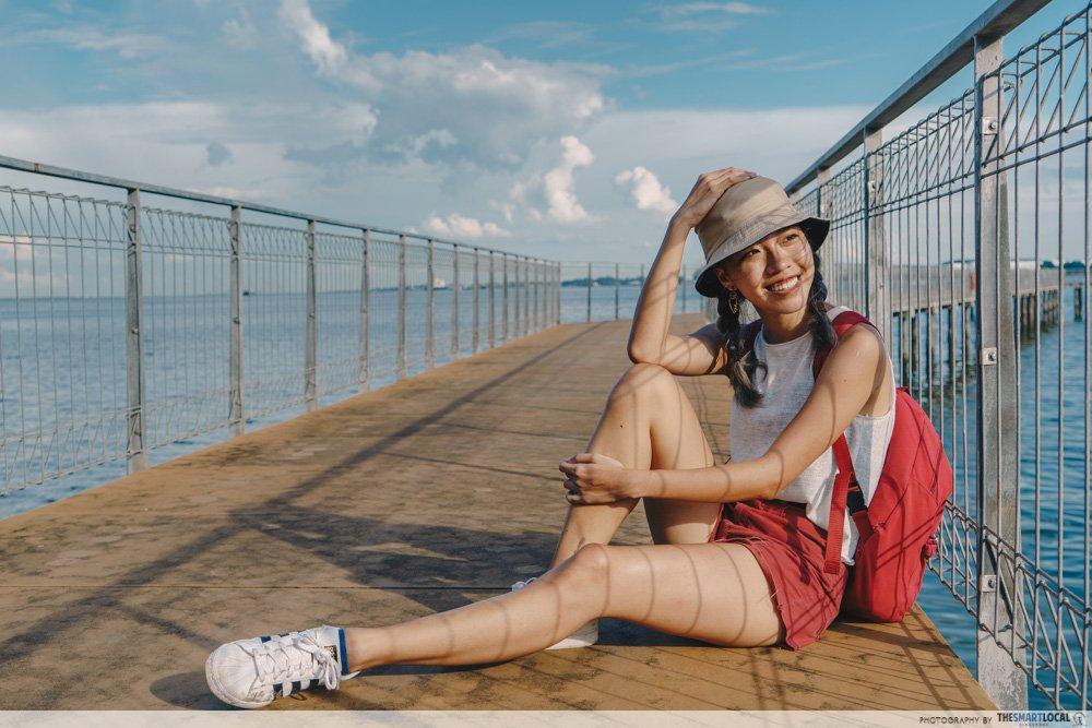Pulau ubin Chek Jawa jetty