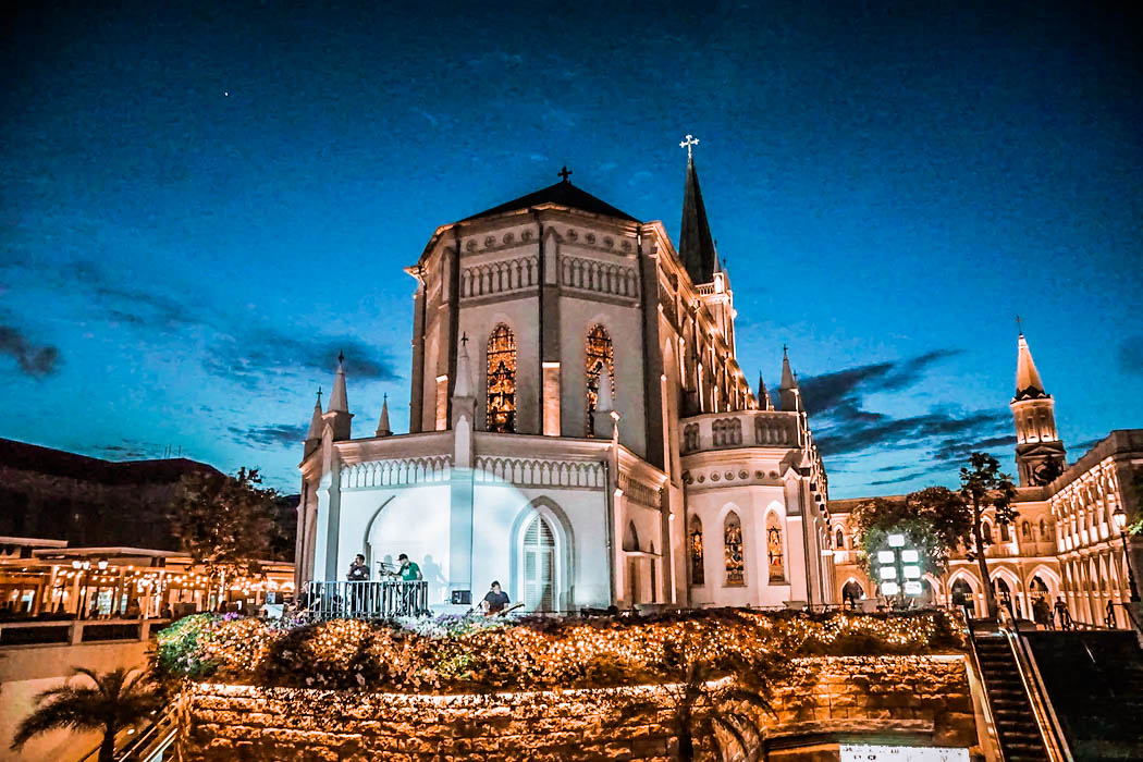 Chijmes - Europe in Singapore