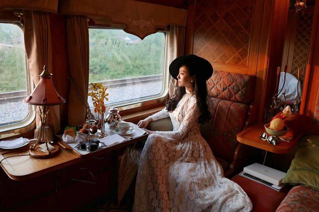 Orient Express Exhibit - trans-European train