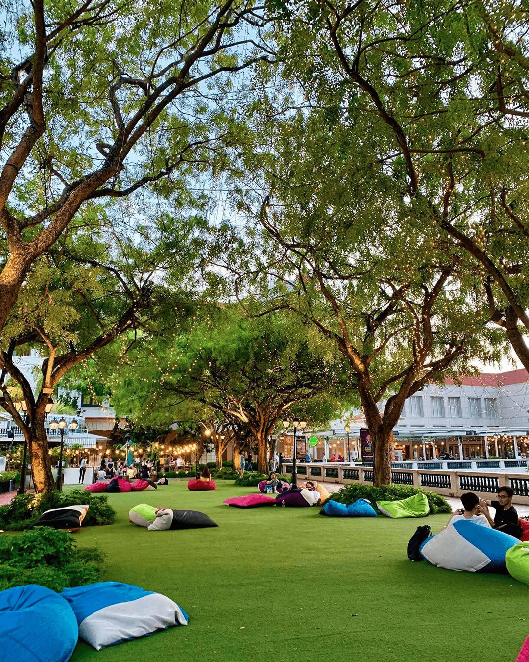 The Lawn at Chijmes