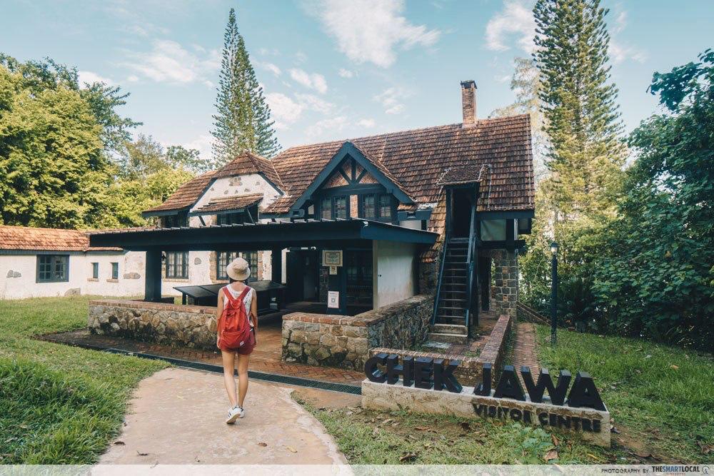 Tudor House No. 1 at Chek Jawa Pulau Ubin - Europe in Singapore