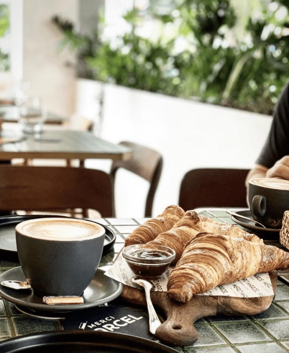 Croissants at Merci Marcel