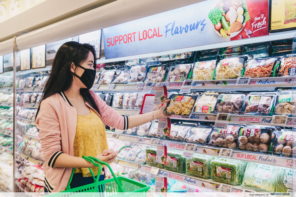 FairPrice Made In Singapore Food Brands Local Produce
