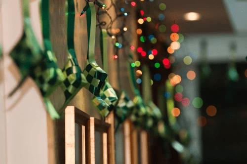 Ketupat Decorations Singapore Hari Raya