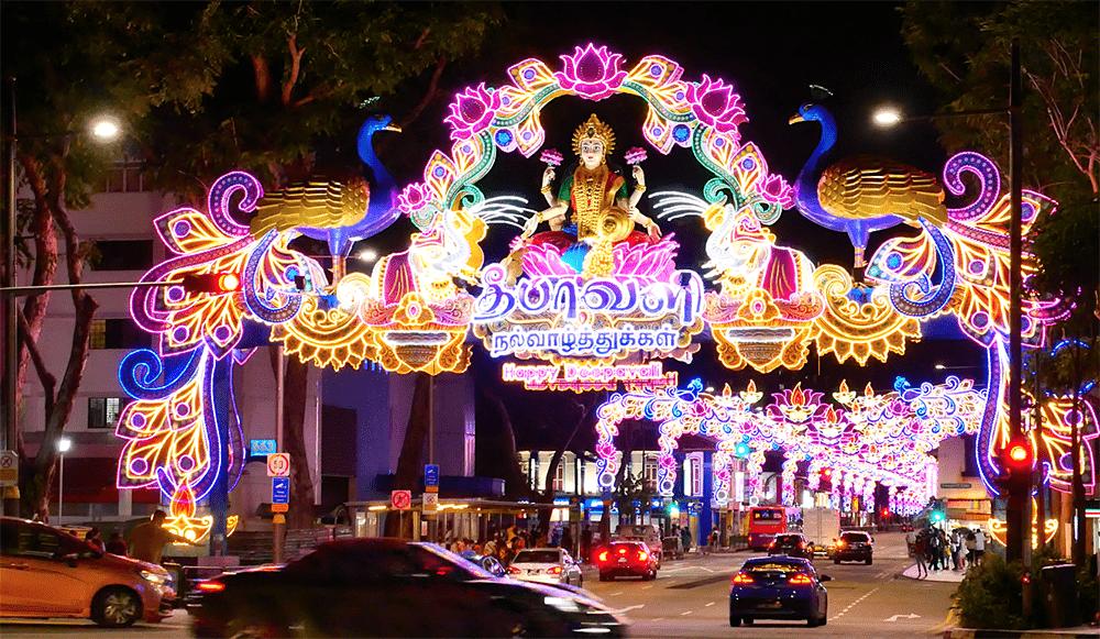 2020 Deepavali Little India Light Display