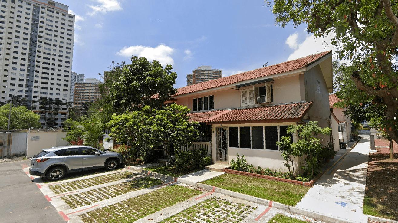 HDB terrace flats in Singapore