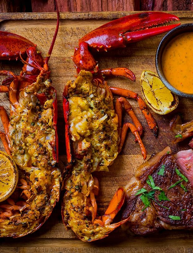 MSC-certified lobster from Opus Bar and Grill