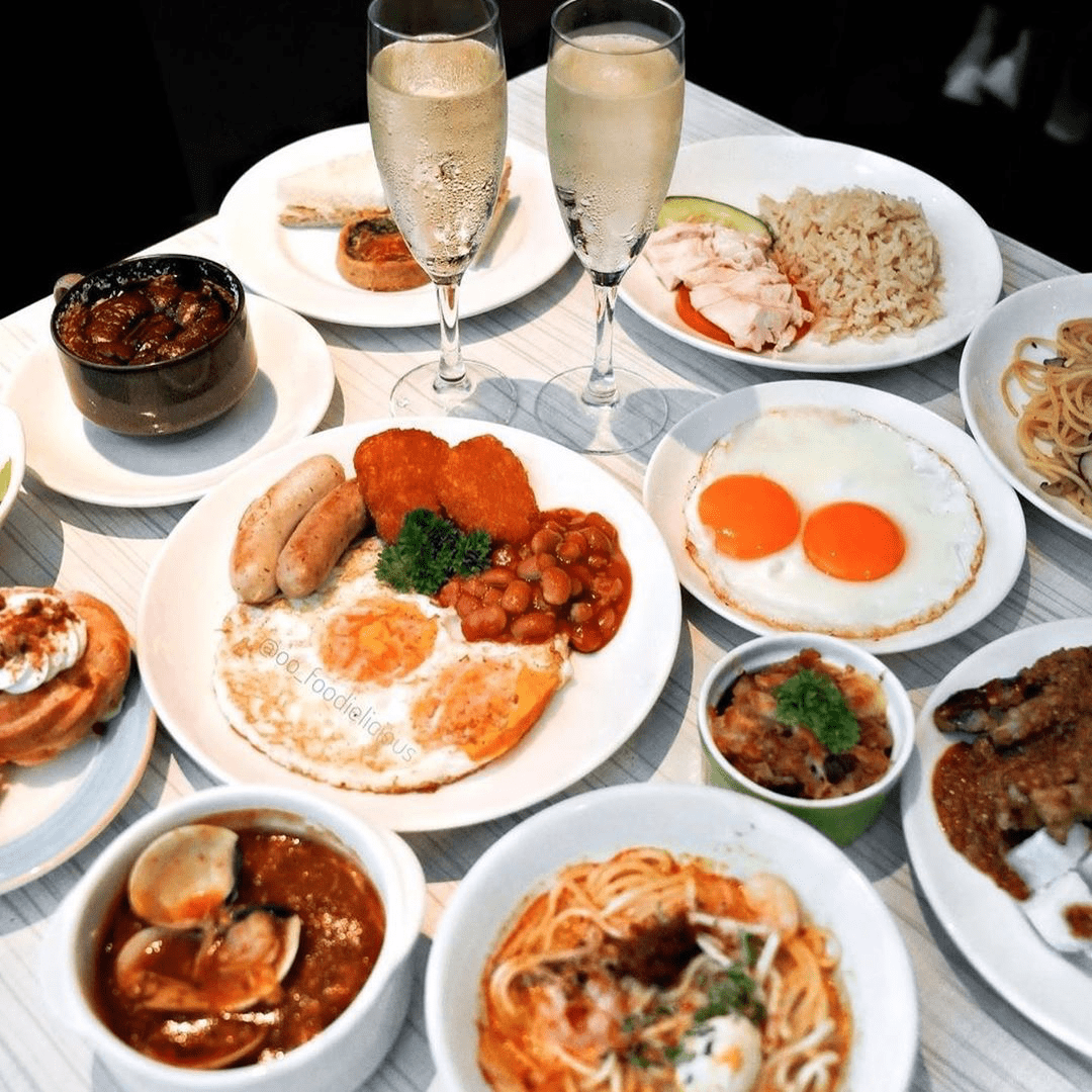 50% off buffet for 2nd diner at M Hotel's Cafe 2000