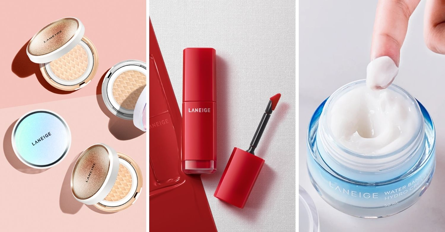 November 2020 Deals Up to 50% off selected products at Laneige E-Store Launch