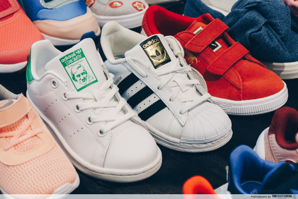 Adidas Stan Smith and Adidas Superstar