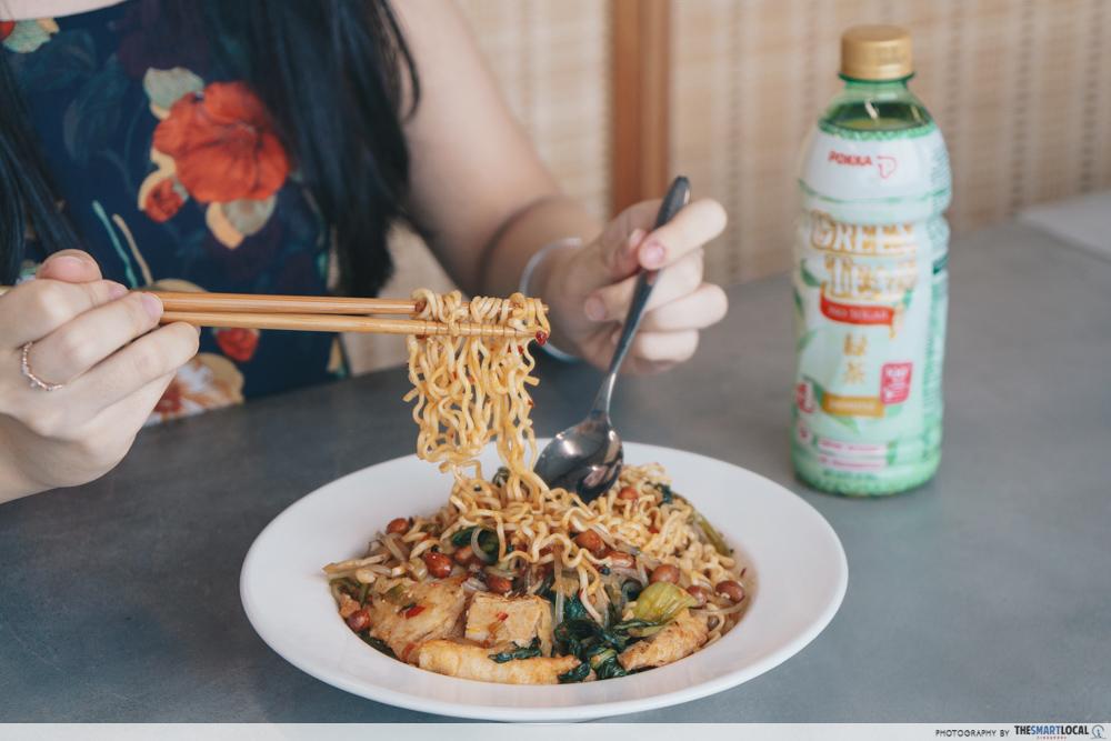 Mala Noodles - Jasmine Green Tea Pokka No Sugar