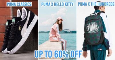 Puma sale on Lazada