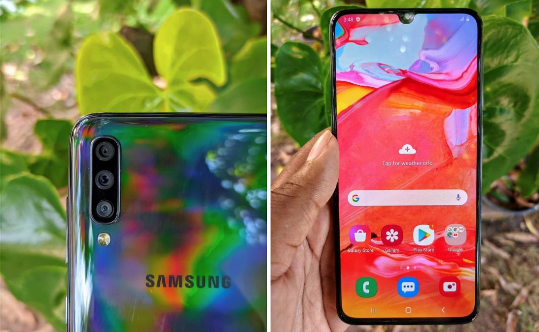 cheap smartphone singapore - samsung galaxy a70