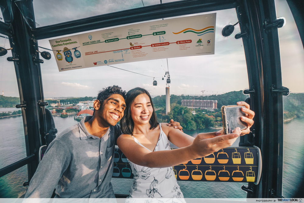 Sentosa Cable Car promotion - $3 round trip with Sentosa Sky Pass