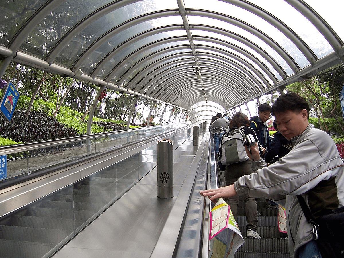 Hong Kong Ocean Park travelator