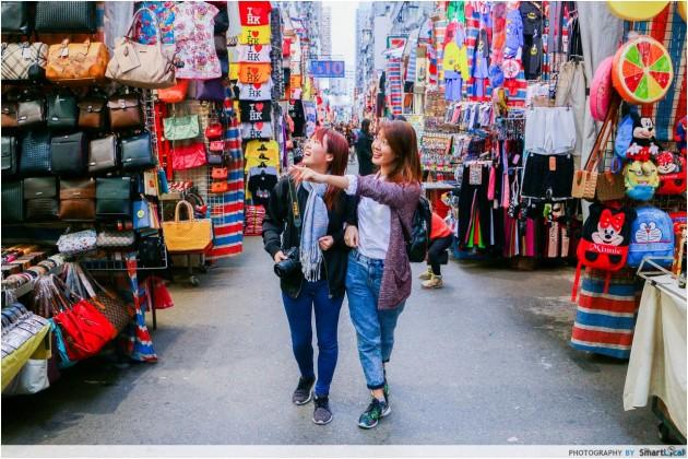 Ladies' market street photography