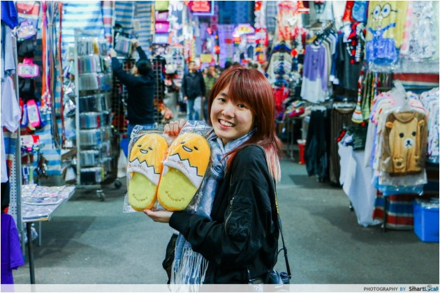 Ladies' Market Hong Kong street photography
