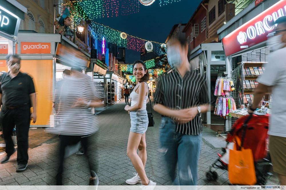 Chinatown street Singapore street photography