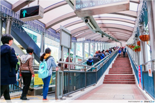 Central-Mid Levels escalator