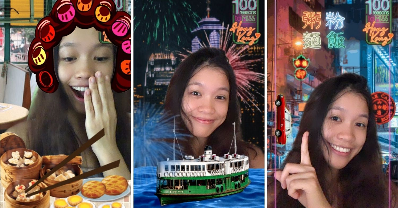 @discoverhongkong AR filters
