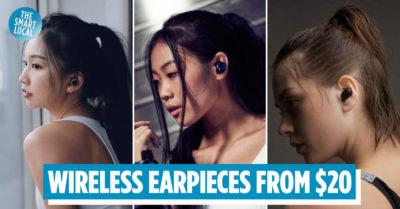 Wireless Earpiees Singapore