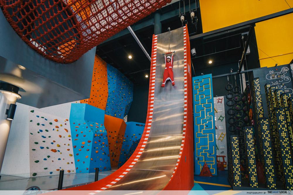 Adventure HQ - Parabolic slide