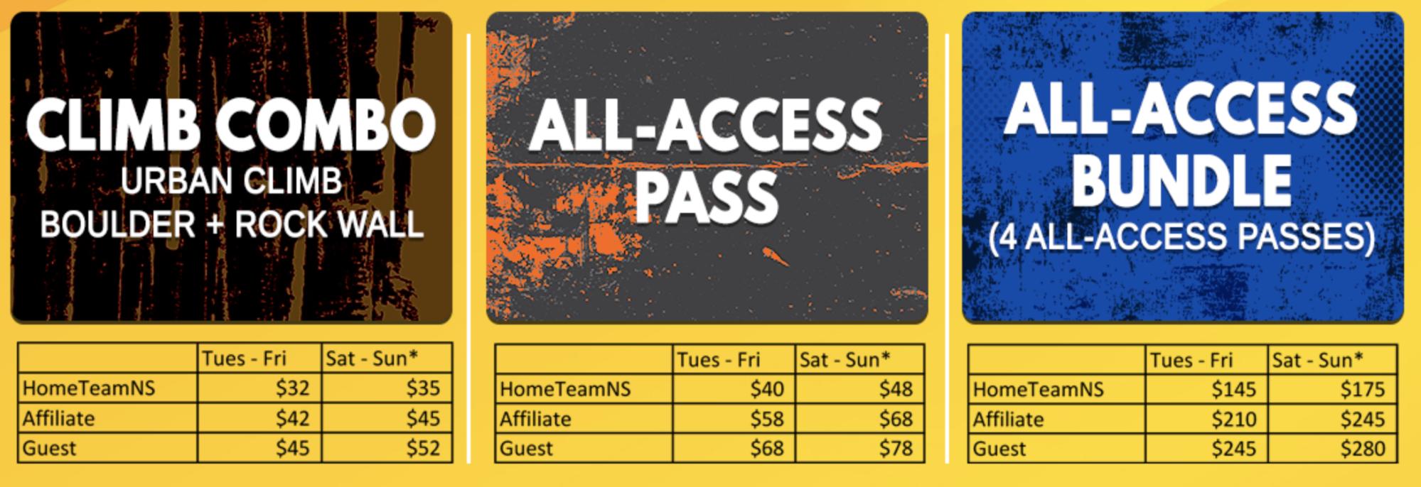 HomeTeamNS.- Adventure HQ prices