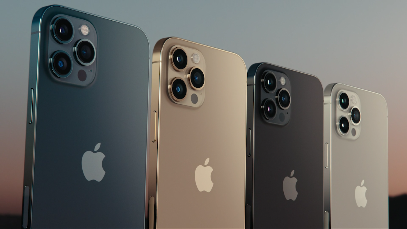 Apple iPhone 12 Singapore - the new iPhone 12 Pro colours including pacific blue and graphite