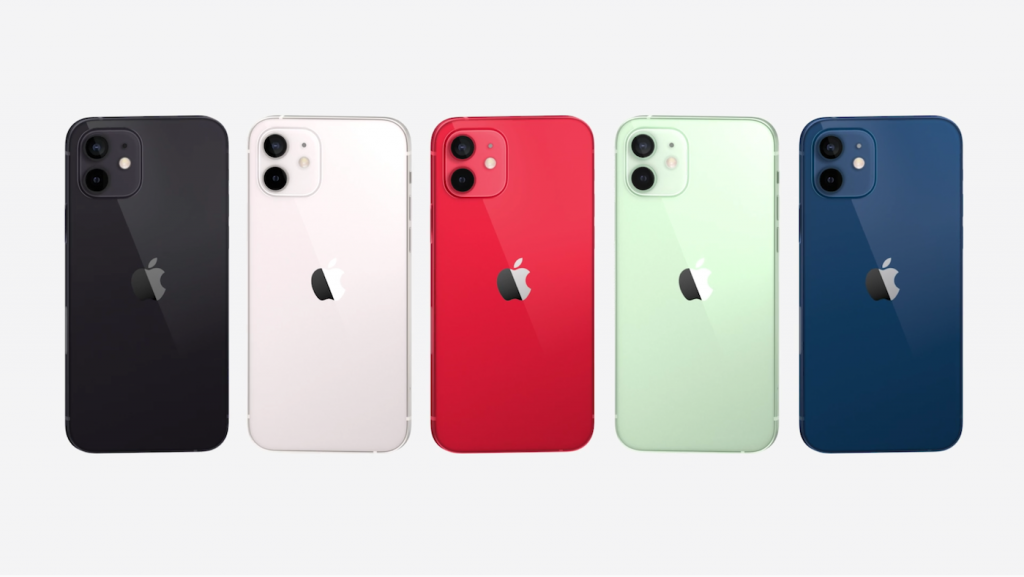 new iphone 12 colours