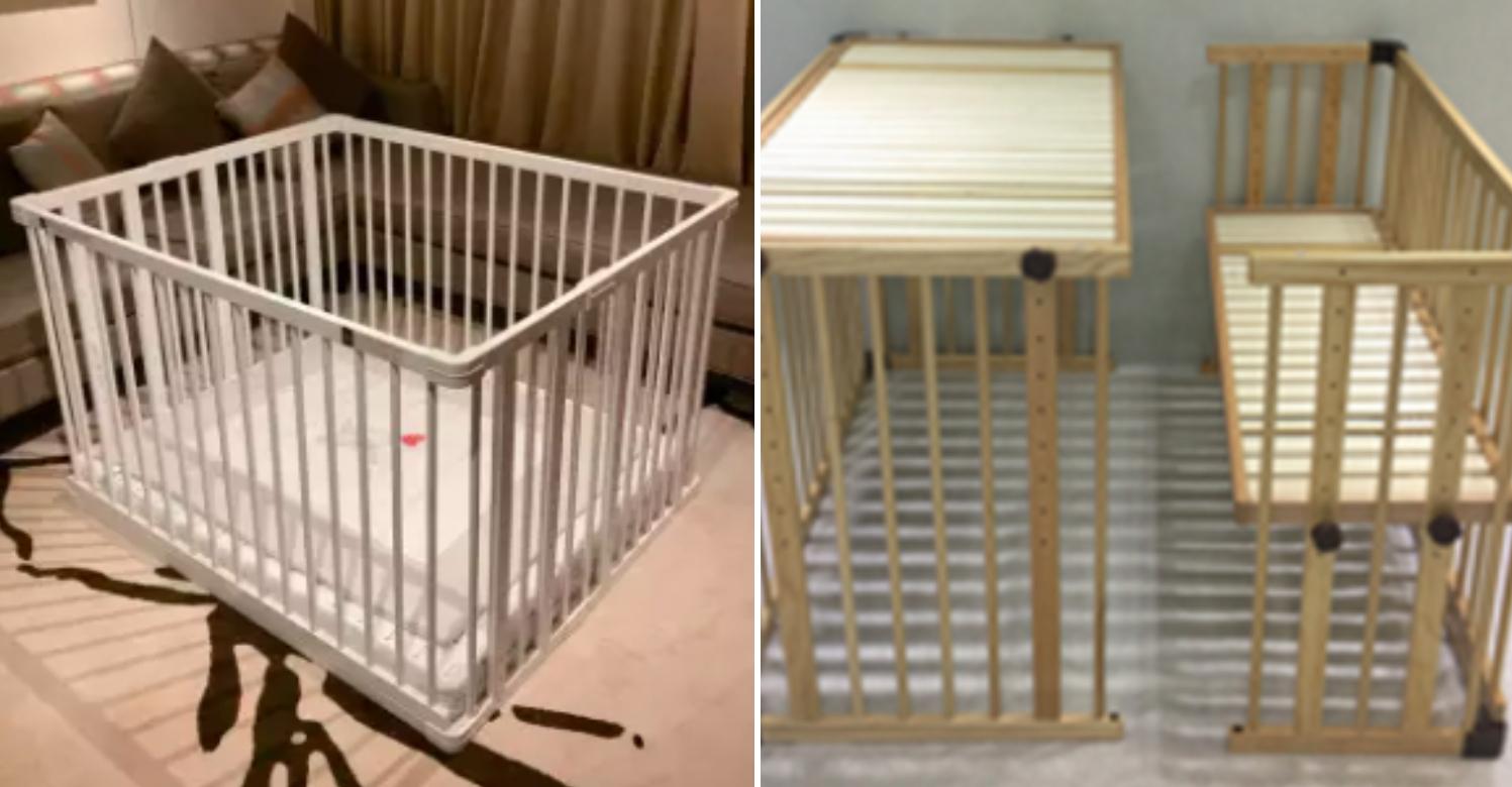 Beblum Lavo 5 Convertible Baby Cot