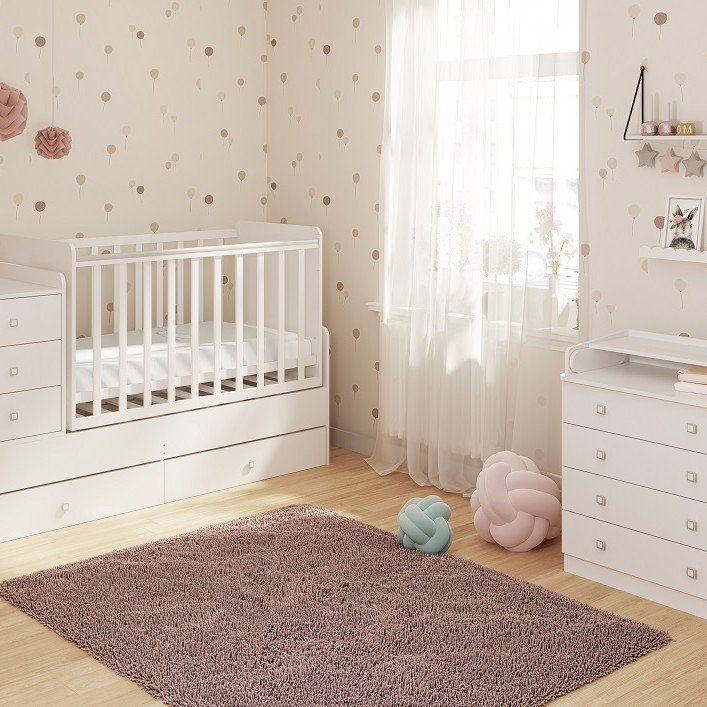 Polini Convertible Baby Cot