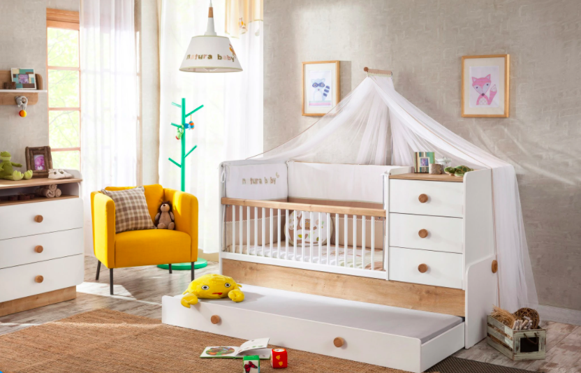 Kids Haven Cilek Natura Baby Bed