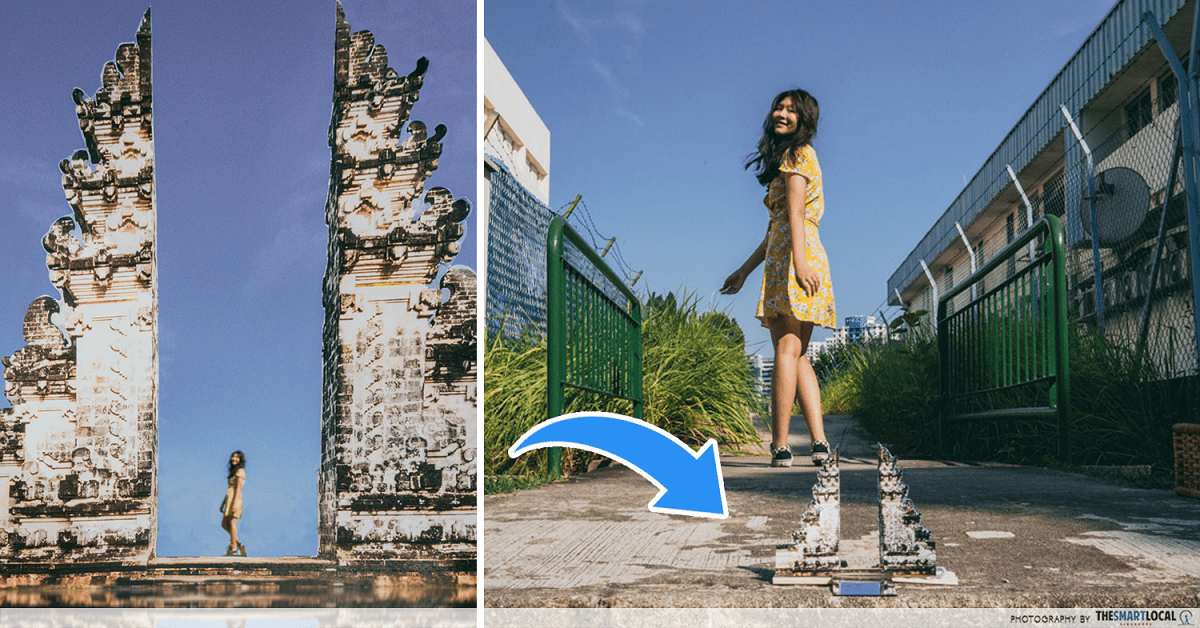 Bali in Singapore - photography tricks