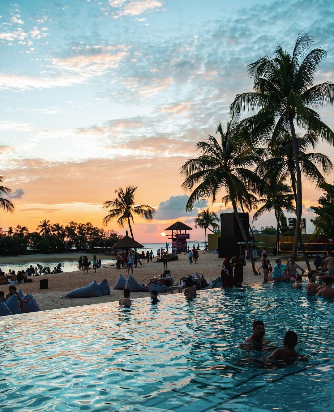 Bali in Singapore - Rumours Beach Club