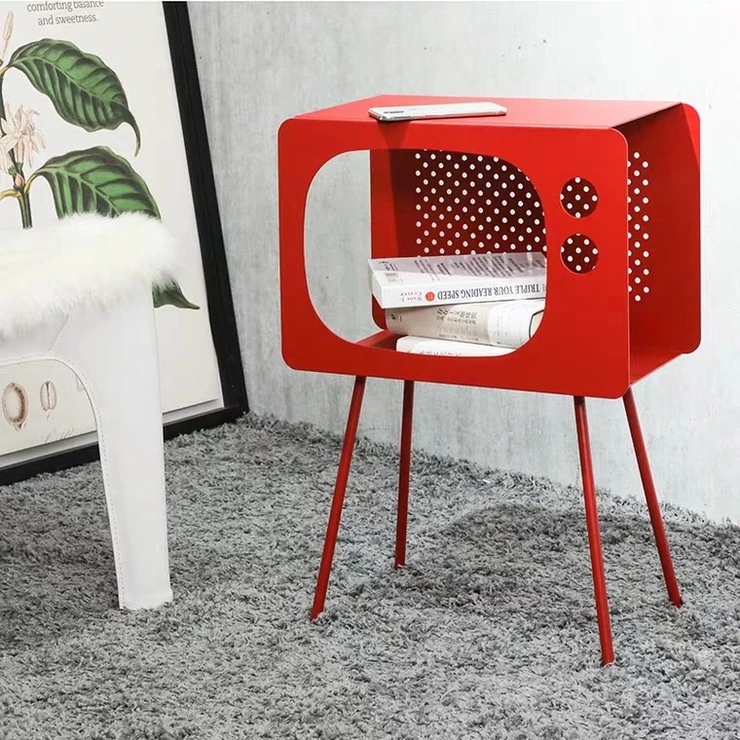 bedside-tables-singapore - cubic accent side table urban mood