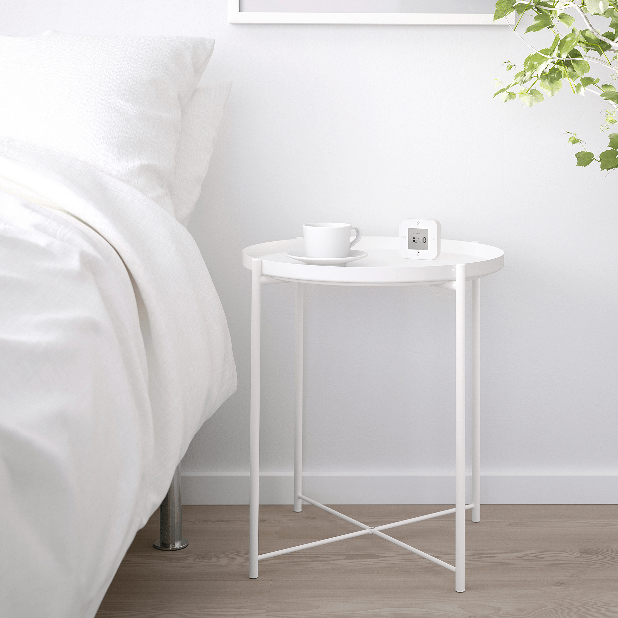 bedside-tables-singapore - gladom tray table ikea
