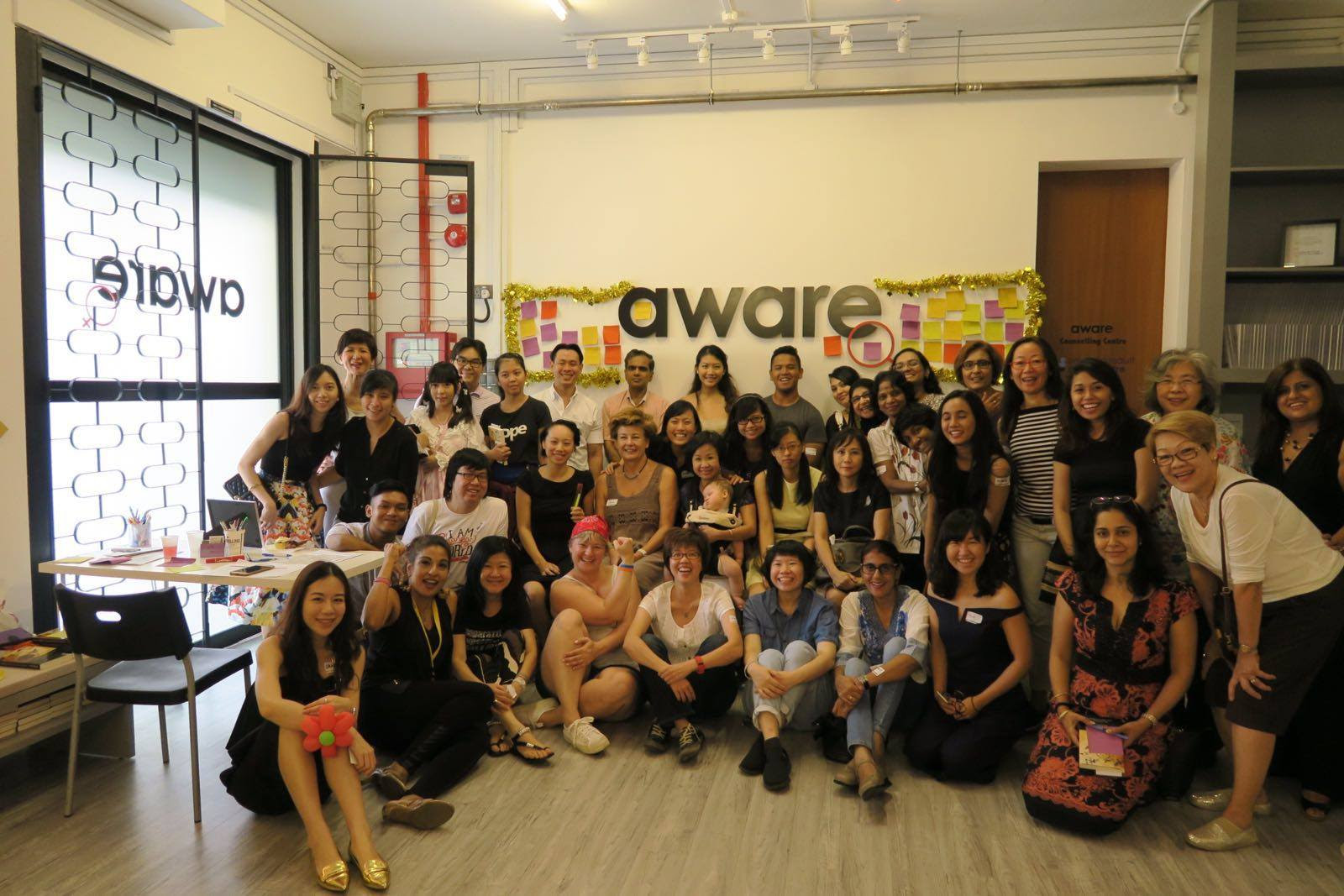 counselling in singapore - Aware team