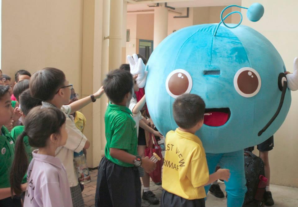 tinkle friend mascot